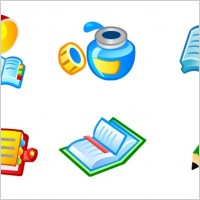 Link toFree vector book icons