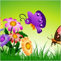 Link toFree vector butterfly