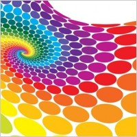 Link toFree vector colorful dots background
