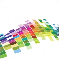 Link toFree vector colorful mosaic pattern background