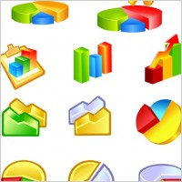 Link toFree vector diagram icons