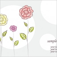 Link toFree vector flower doodles