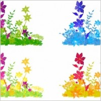 Link toFree vector flower patch