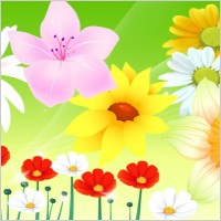 Link toFree vector flowers 06