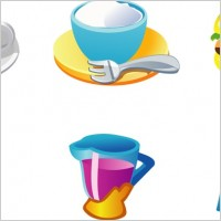 Link toFree vector food graphics