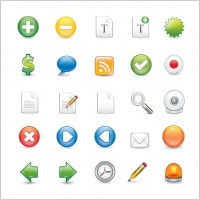 Link toFree vector icon set 1 - containing 25 icons