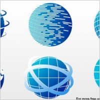 Link toFree vector images - globe icon set