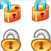 Link toFree vector lock icons