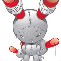 Link toFree vector monster cartoon character