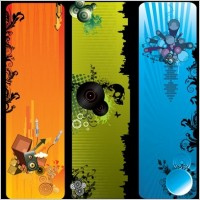 Link toFree vector music banners