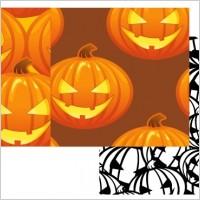 Link toFree vector pumpkin patterns � halloween jack o lanterns