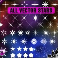 Link toFree vector stars