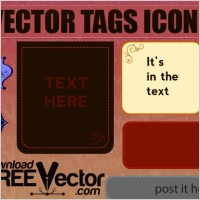 Link toFree vector tags icons