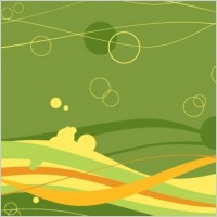 Link toFree vector waves and bubbles background