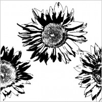 Link toFree vectors: sunflowers