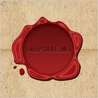 Link toFree wax seal psd