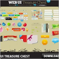 Link toFree web user interface treasure chest