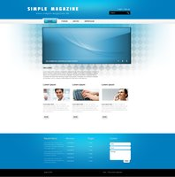 Link toFree webdesign project psd | simple magazine