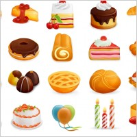 Link toFree yummy icons set icons pack