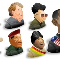 Link toFreebie: 8 political characters icon set