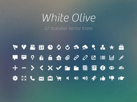 Link toFreebie: white olive icon collection