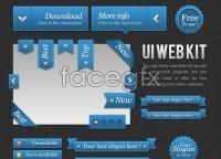 Link toFreebies : ui blue web kit