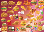 Link toFrench fries chicken burgers psd