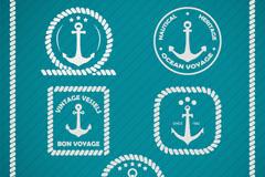 Link toFresh anchor tag vector