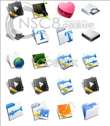Link toFresh design desktop icons