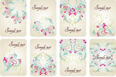 Link toFresh design patterns card vector