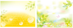 Link toFresh flowers and background vector