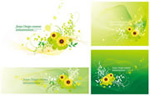 Link toFresh flowers and flags vector
