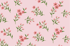 Link toFresh flowers backgrounds vector