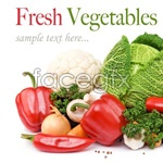 Link toFresh fruits and vegetables, mix 2 psd