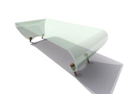 Link toFresh green glass tea table 3d models
