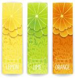 Link toFresh juice banner vector