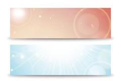 Link toFresh light banner vector