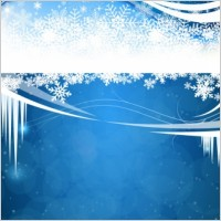 Link toFresh snow background vector
