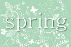Link toFresh spring background pattern vector