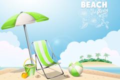 Link toFresh summer background vector