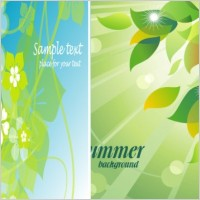 Link toFresh summer flowers vector background 4 mirage