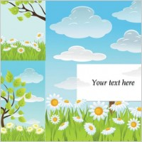 Link toFresh summer vector background