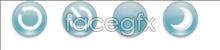Link toFresh tight white button icon