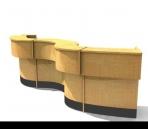 Link toFront desk 3d model