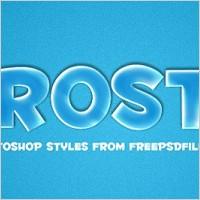 Link toFrosty photoshop style