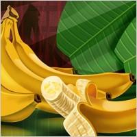 Link toFruit bananas psd layered