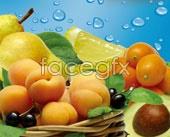 Link toFruit peach pear psd
