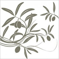 Link toFruit tree branches silhouettes vector material