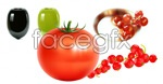 Fruits and vegetables- vector