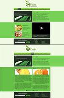 Link toFrukt - fruit web design